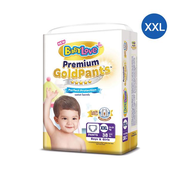 BabyLove+Premium+Gold+Pants+Perfection+Protection+38pcs+%23XXL