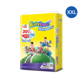 BabyLove Playpants Nanopower Plus Jumbo Size 40pcs #XXL