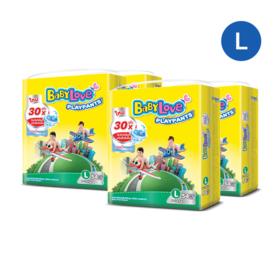 BabyLove Playpants Nanopower Plus Jumbo Size 54pcs x 4packs (216 in box) #L