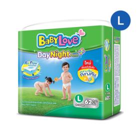 Babylove DayNight Pants Mega Pack 62pcs #L