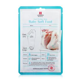 Leaders Mediu Baby Soft Foot Peeling Mask 1pcs