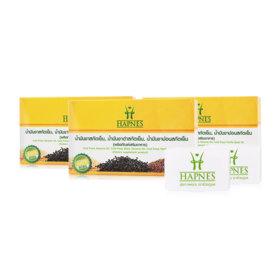 HAPNES Cold Press Sesame Oil, Cold Press Black Sesame, Cold Press Perilla Seed Oil (700mg x 30capsules x 3box)(Free! Pillbox)