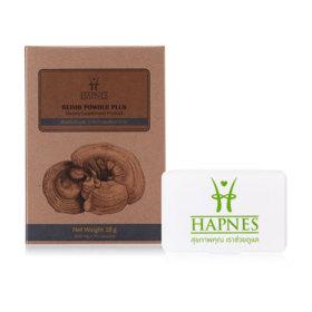 HAPNES Reishi Powder Plus (600mg x 30capsules)(Free! Pillbox)