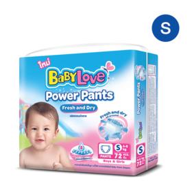 Babylove Power Pants 72pcs #S