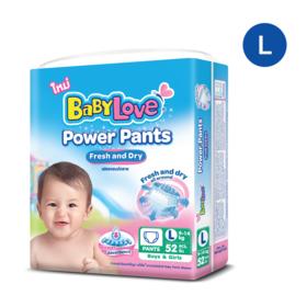 Babylove Power Pants 52pcs #L