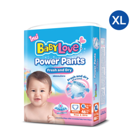 Babylove Power Pants 46pcs #XL