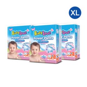 Babylove Power Pants 46pcs x 3 pack (138pcs in box) #XL