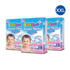 Babylove Power Pants 38pcs x 3 pack (114pcs in box) #XXL