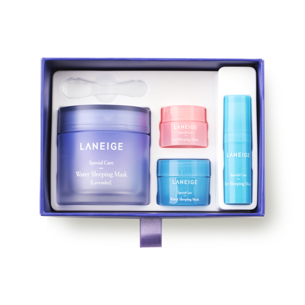 Laneige Water Sleeping Mask Special Set #Lavender