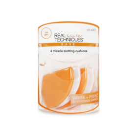 Real Techniques 4 Miracle Blotting Cushions #1493