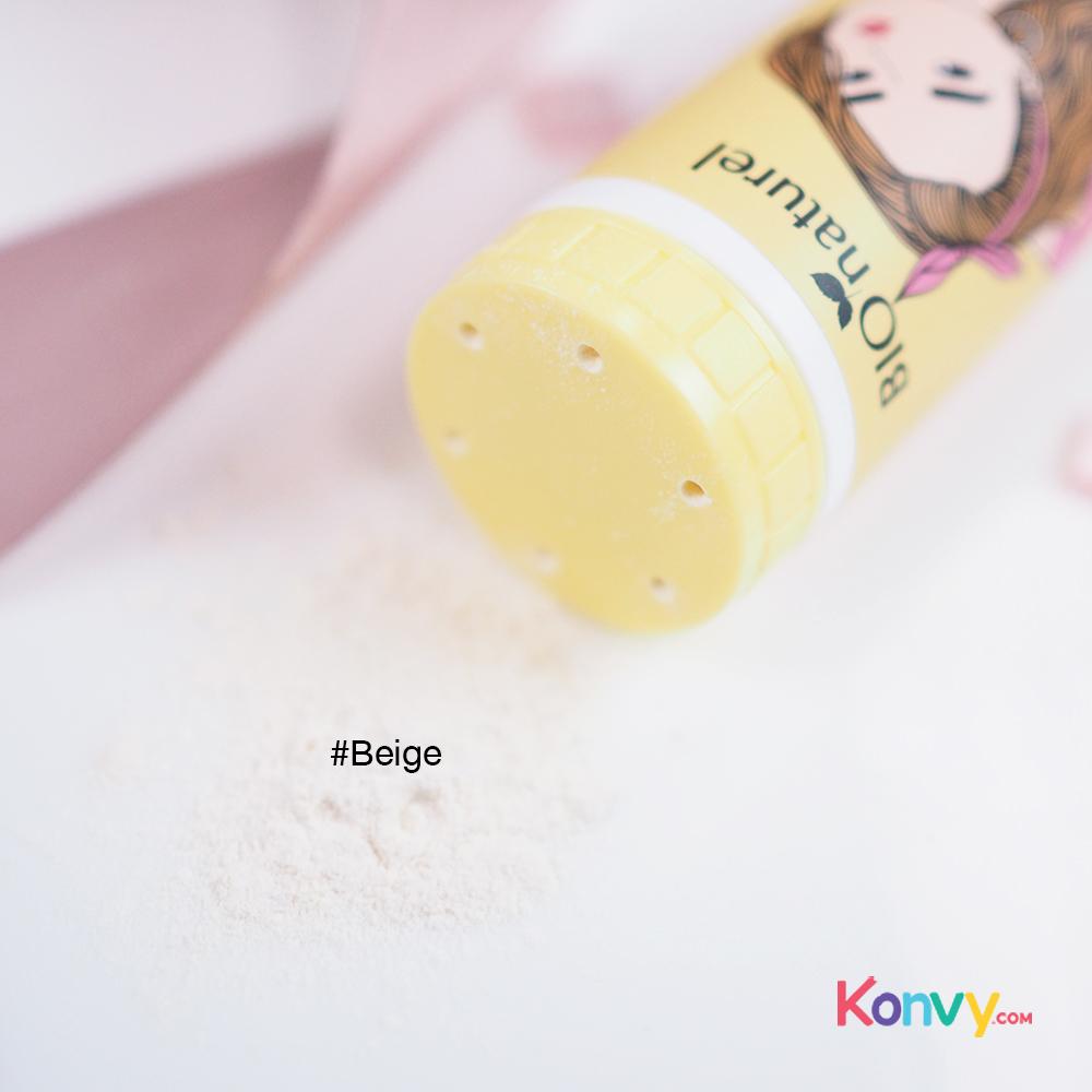 BIO Naturel Oil Absorbing Face Powder 25g #Beige_2