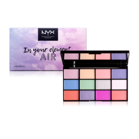 NYX Professional Makeup In Your Element Shadow Palette #Air IYELSP01