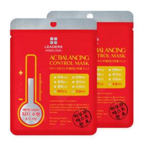 แพ็คคู่ Leaders Insolution Ac Balancing Control Mask (25ml x 2sheets)