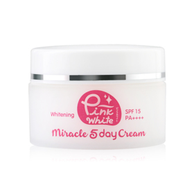 P.O. Care Pink White Miracle 5 Day Cream SPF15/PA+++ 25g
