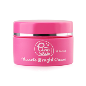 P.O. Care Pink White Miracle 5 Night Cream 25g