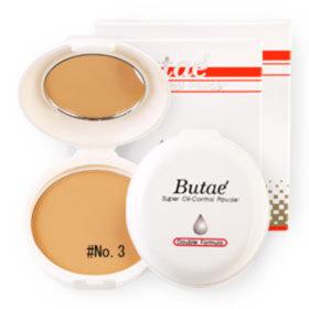 แพ็คคู่ Butae Super Oil-Control Powder Double Formula #No.3 Golden Brown (14g x 2)