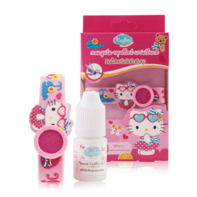 Kindee Mosquito Repllent Wristband #Hello Kitty