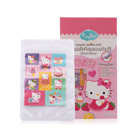 Kindee Mosquito Repellent Patch (10pcs in sachets) #Hello Kitty