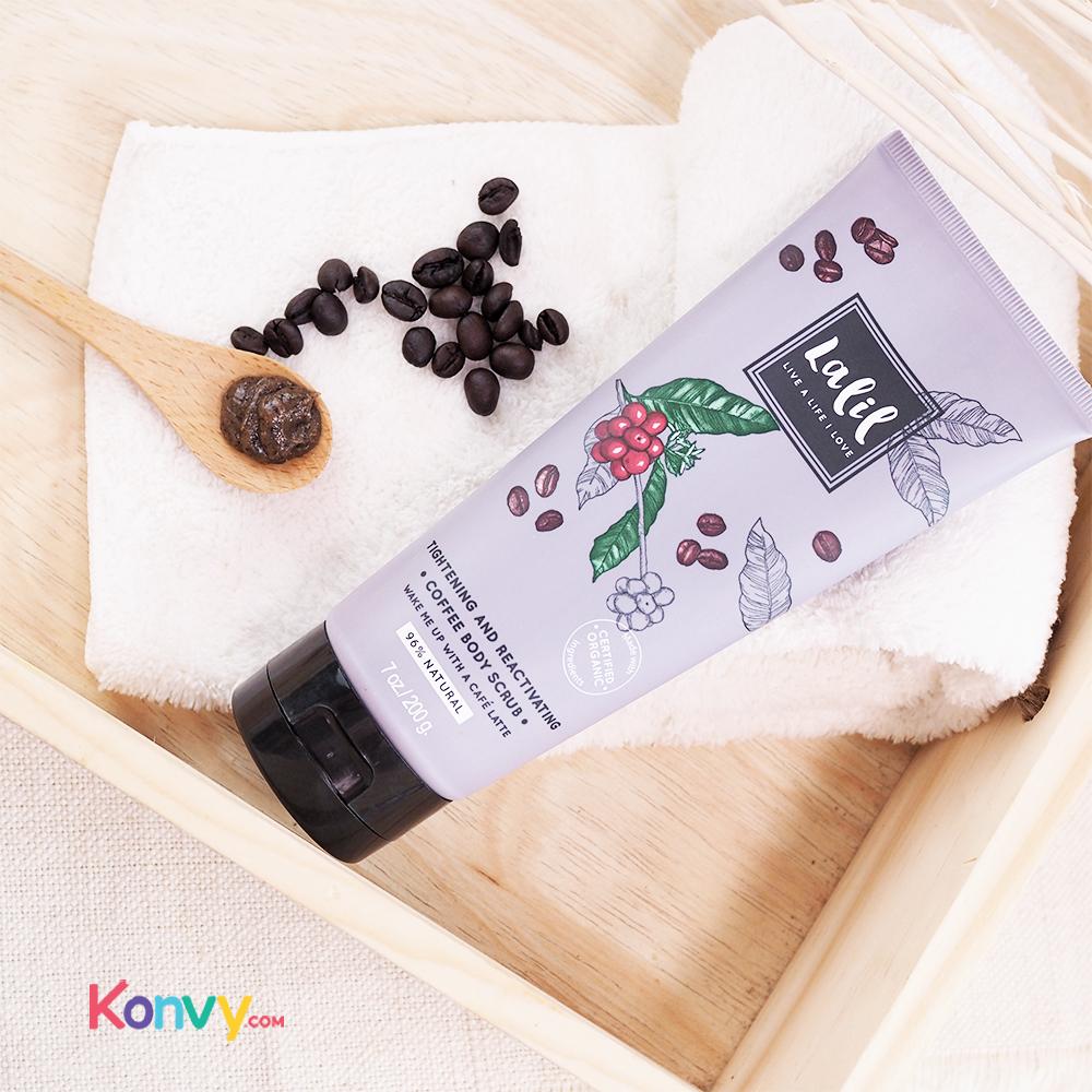 Lalil Tightening & Reactivating Coffee Body Scrub (30018)_2