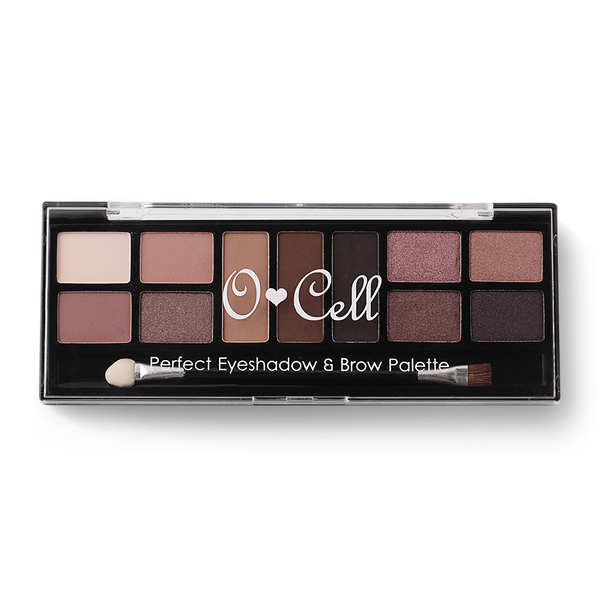Ocell Perfest Eyeshadow & Brow Palette 11.6g