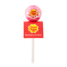 Chupa Chups Lip Locker #01 Strawberry&Cream
