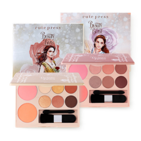 Cute Press Beauty and The Beast True Beauty Palette #01 Intelligent Beauty (Free! Palette #02 Enchated Beauty)