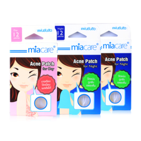 Miacare Combo Pack Acne Patch Set 3 Items (For Day 1box + For Night 2box)