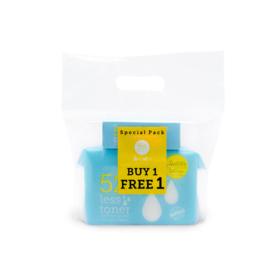Rii 52 Less Toner Cotton Pads 240pcs (Refill) (Free! Less Toner Mini)