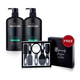 แพ็คคู่ Tresemme Split Recovery Shampoo (480ml x 2pcs) (Free! Comb Set)