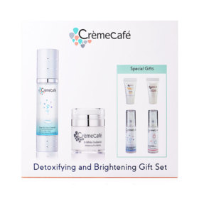Creme Cafe Detoxifying & Brightening Gift Set