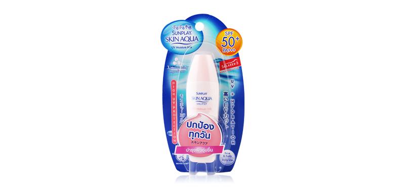 Mentholatum Sunplay Skin Aqua UV Moisture Milk SPF50 PA+++ 42g