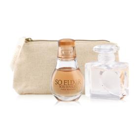 Yves Rocher Duo Mini Travel Perfume Set 3Items(D Amour EDT 5ml + So Elixir  Bois Sensuel EDP 5ml + 2018 Golden Pourch)