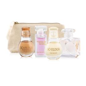 Yves Rocher Mini Travel Perfume Set 5Items(D Amour EDT 5ml + So Elixirl EDP 5ml +  Elixir Bois Sensuel EDP 5ml + De Bonheur EDP)