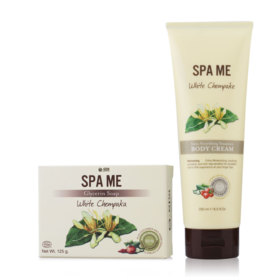 O-Spa Set 2 Items (Soap 125g #White Chempaka + Body Cream 250ml #White Chempaka)