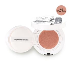 Yafu Hydrating Radiance Cushion Cream Foundation 15g #02 Pale Skin