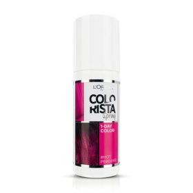 LOreal Paris Colorista Spray 75ml #Hotpink Hair