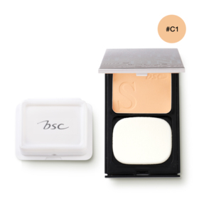 BSC Superfine Whitening Powder SPF25/PA++ 10g #C1 (Free! Refill)