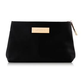 Lancome Golden Logo Pouch #Black