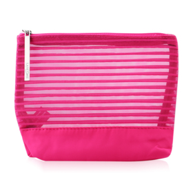 Lancome Make Up Net Pouch #Pink