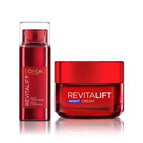 LOreal Paris Revitalift Set 2 Items (Triple Intensive Skin Recitalizer Serum & Moisturizer 48ml + Night Cream 50ml)