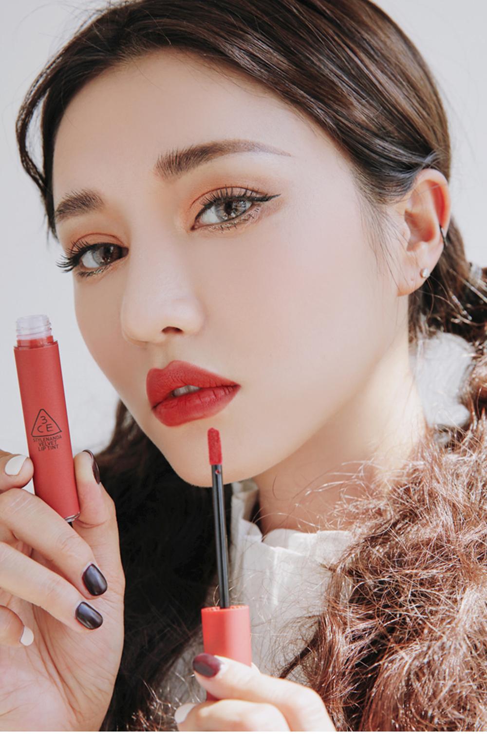 3CE Velvet Lip Tint #Daffodil_4