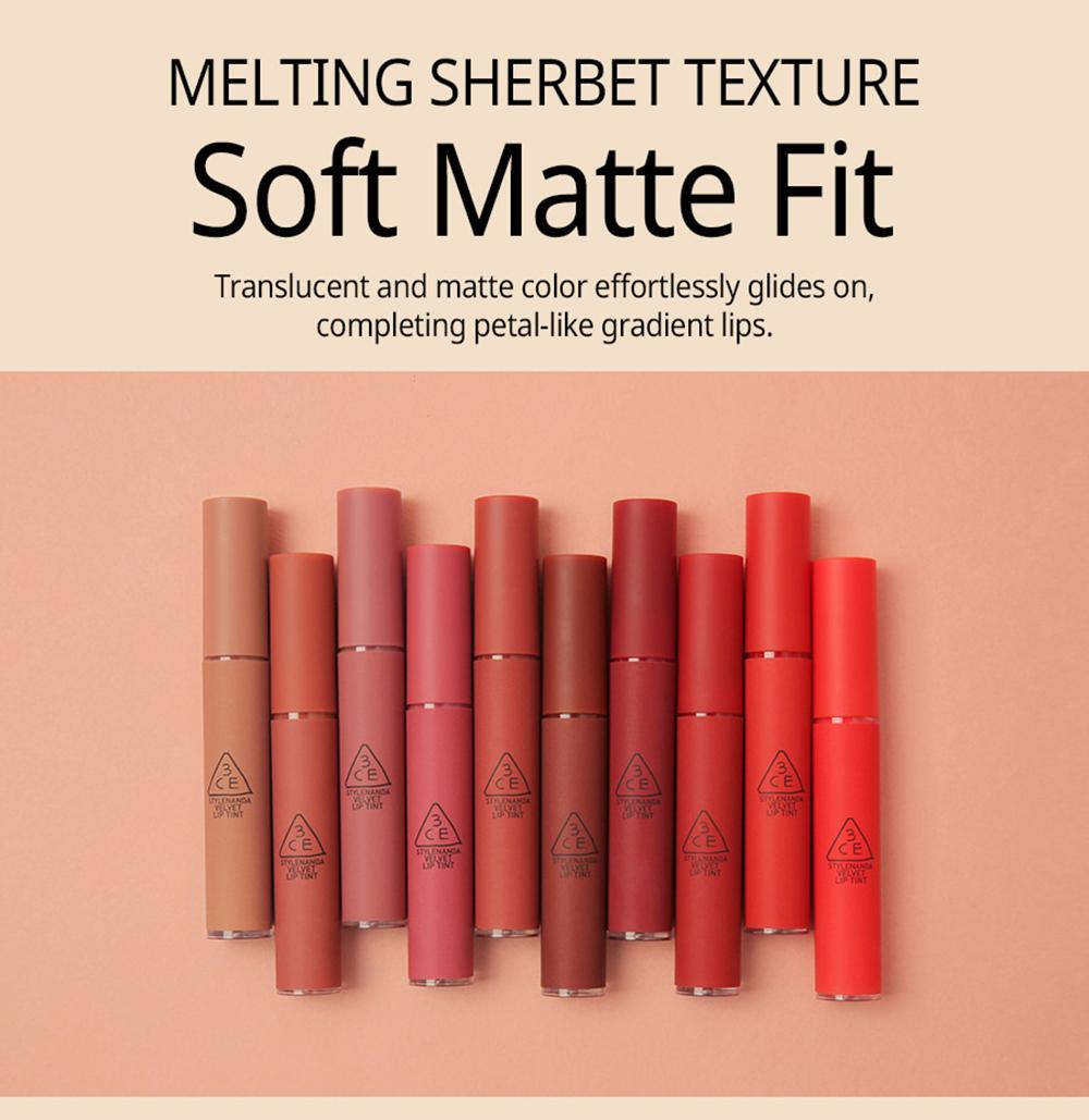 3CE Velvet Lip Tint #Near & Dear_1