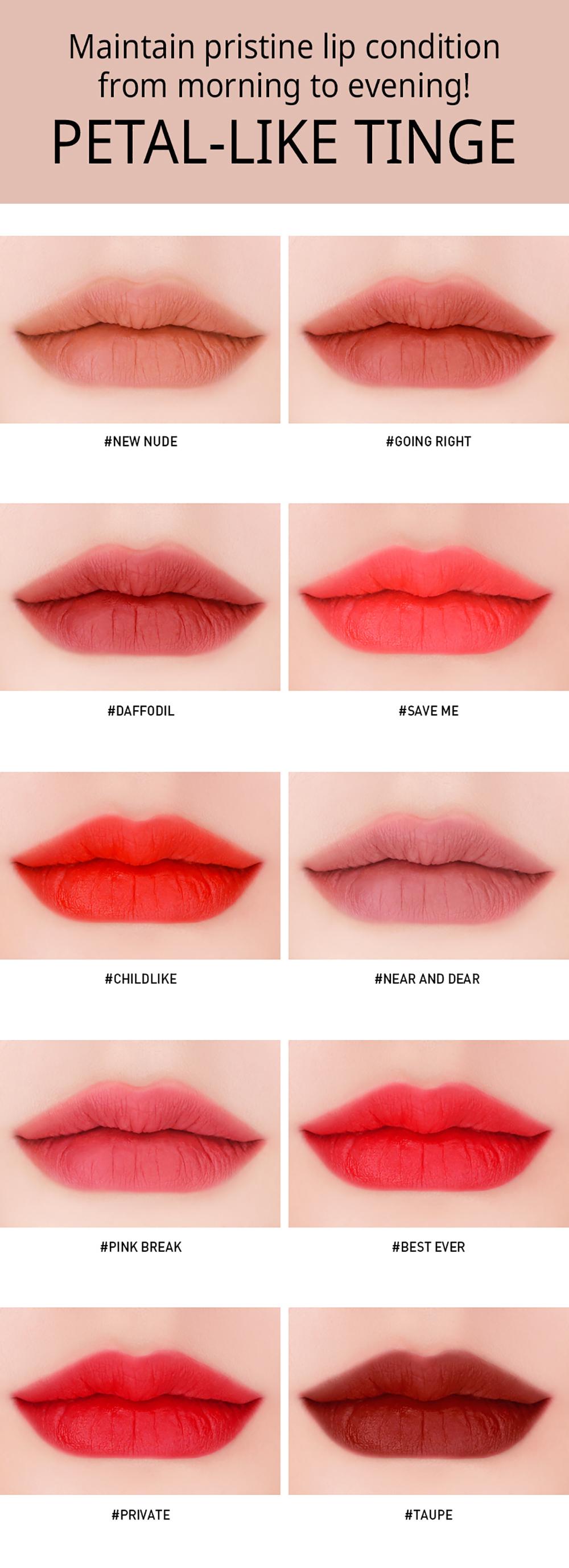 3CE Velvet Lip Tint #Near & Dear_2