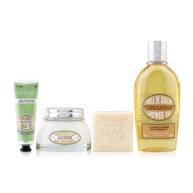 L'Occitane Delicious Almond Gift Set 4 Items