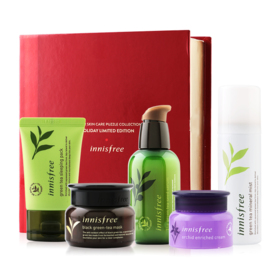 Innisfree Holiday Limited Edition Winter Skin Care Puzzle Collection 5 Items