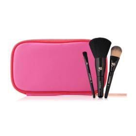 Lancome Leather Brush Bag Set 3 Items