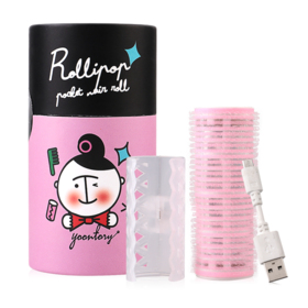 Rollipop USB Hair Roll #Pink