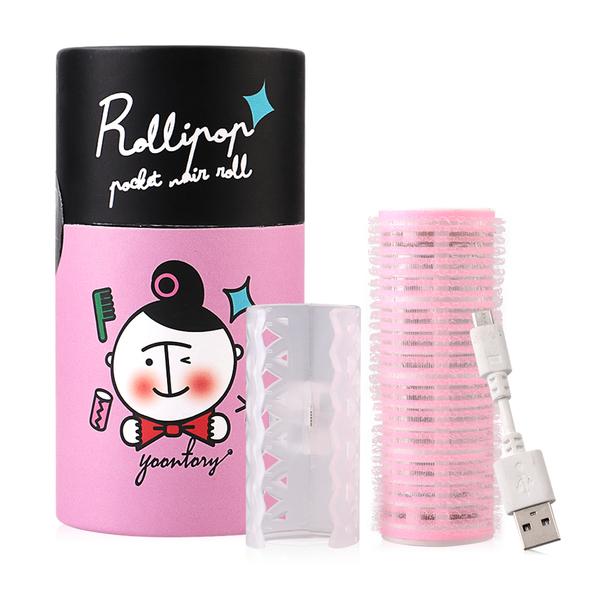 Rollipop USB Hair Roll #Pink
