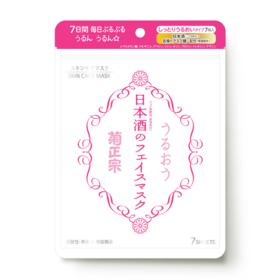 Kiku-masamune Sake Face Mask Moist 7sheets