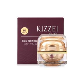 Kizzei Skin Refining Treament Foundation SPF 40 PA+++ #01 Porcelain 15g